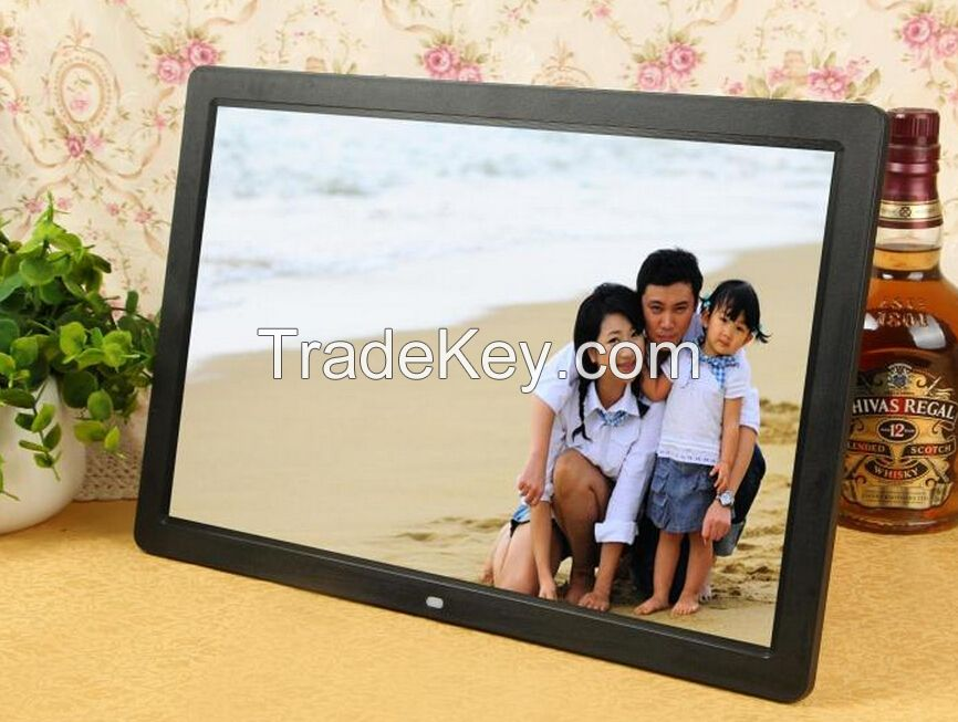 Autoplay 7 inch lcd video screen advertising player