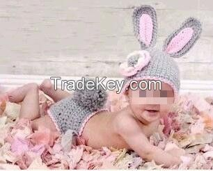 Handmade Minnie Costume Newborn Baby Clothing Gift Sets Faux photography props