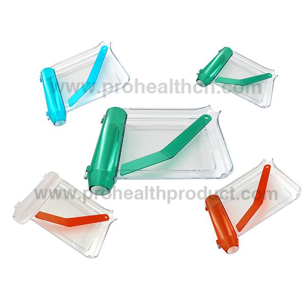 Transparent Pill Counting Tray With Spatula