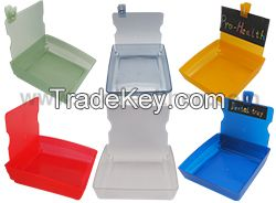 Dental Plastic Container Tray with Clip