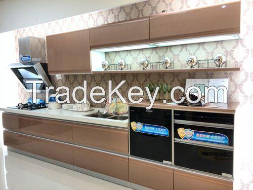 Customized Ready Made Kitchen Cabinets, Modern Kitchen Cabinet Designs,Wooden Kitchen Cabinet