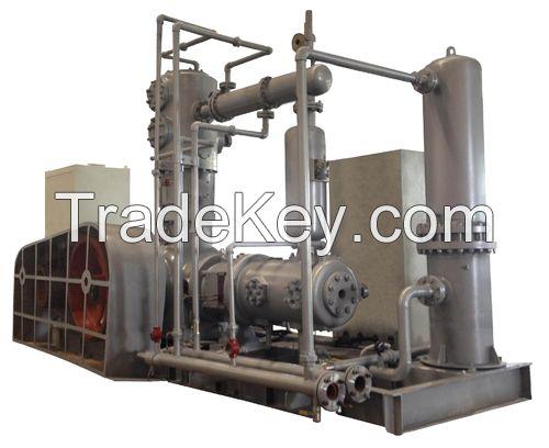 Reciprocating CO2 compressor