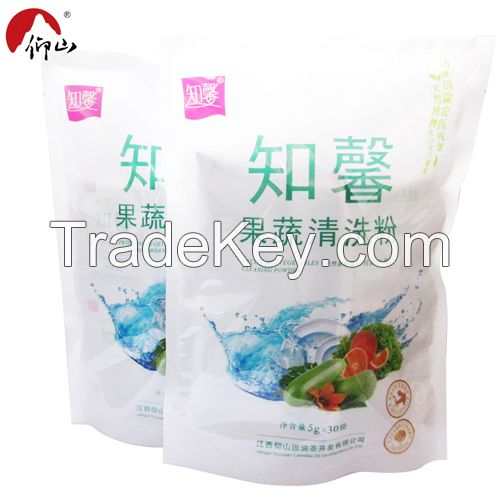 Cleaning powder for fruit and vegetable