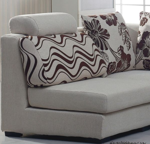 sectional sofa latest design top china living room fabric sofa set Model C633-2