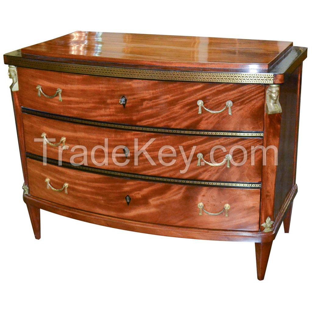 Fine Quality 19th Century Continental Commode
