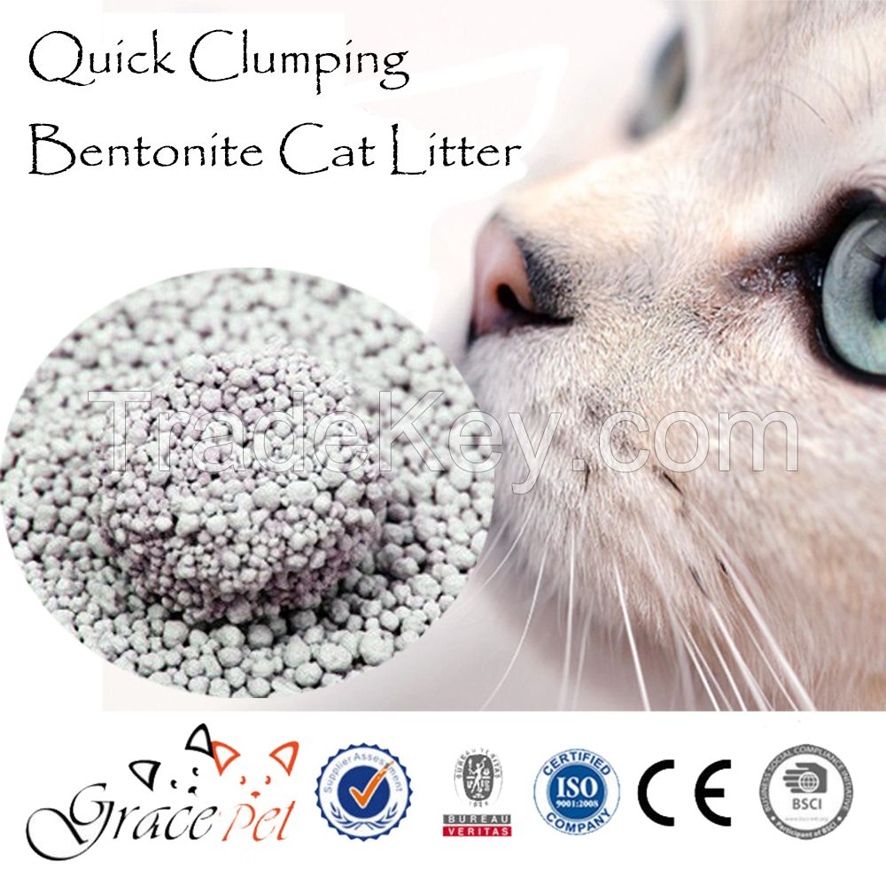 Activated Carbon Cat Sand Natural Fragrance Cat Litter