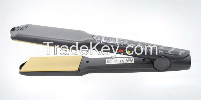 LED Ceramic Flat Iron Hair Straightener Salon Straightner Hair Tools