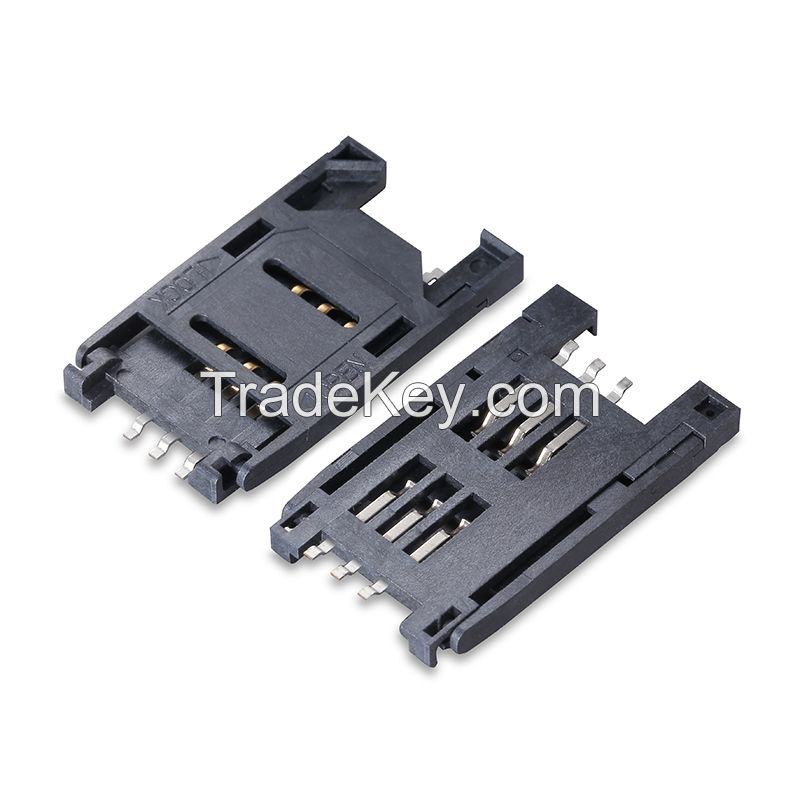 Competitive price big quantity SD and Combo Memory Card socket wholesale
