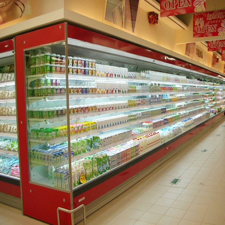 Sanye used supermarket refrigeration equipment with CE certification
