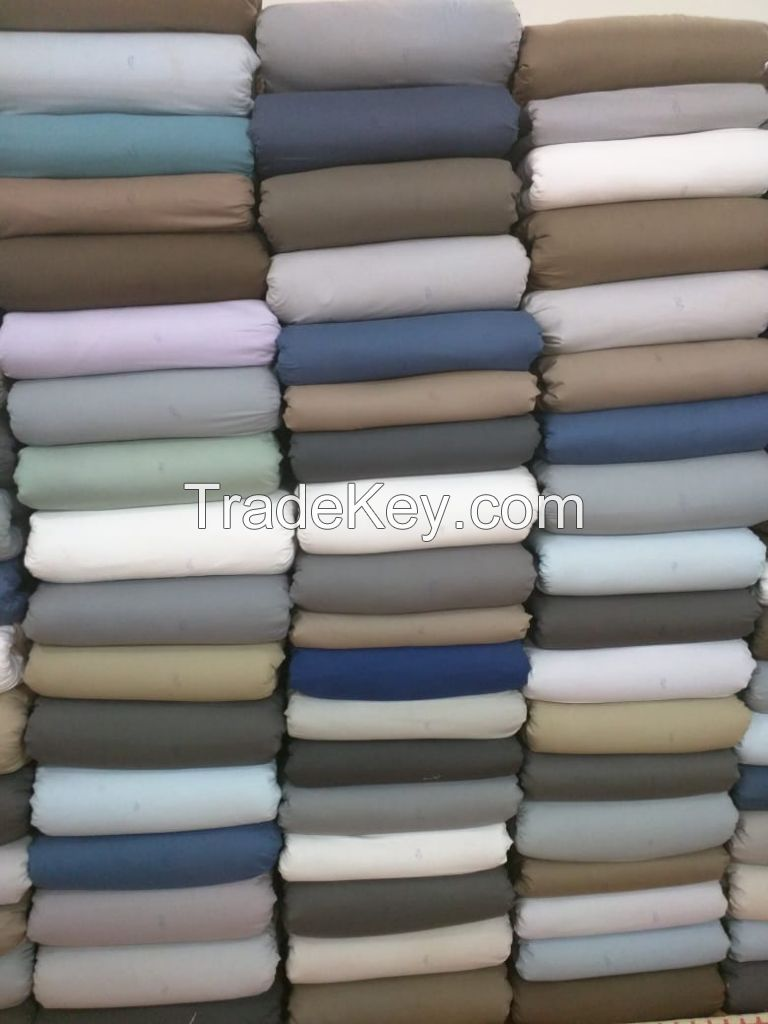 Luxury and Soft Satin, Polyester and Cotton Queen Bed Sheet Set