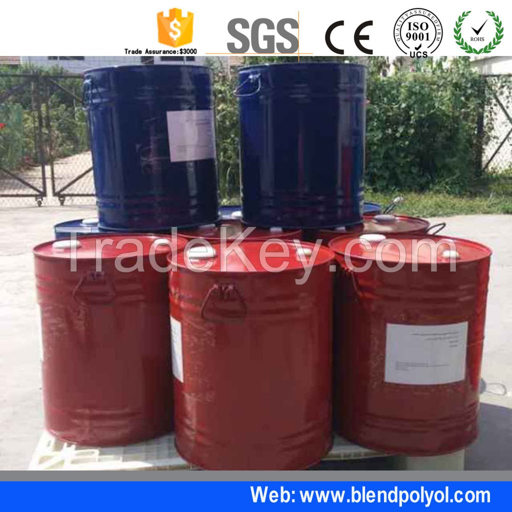 Polyurethane PU Expanding Foam Pipe Insulation Raw Material