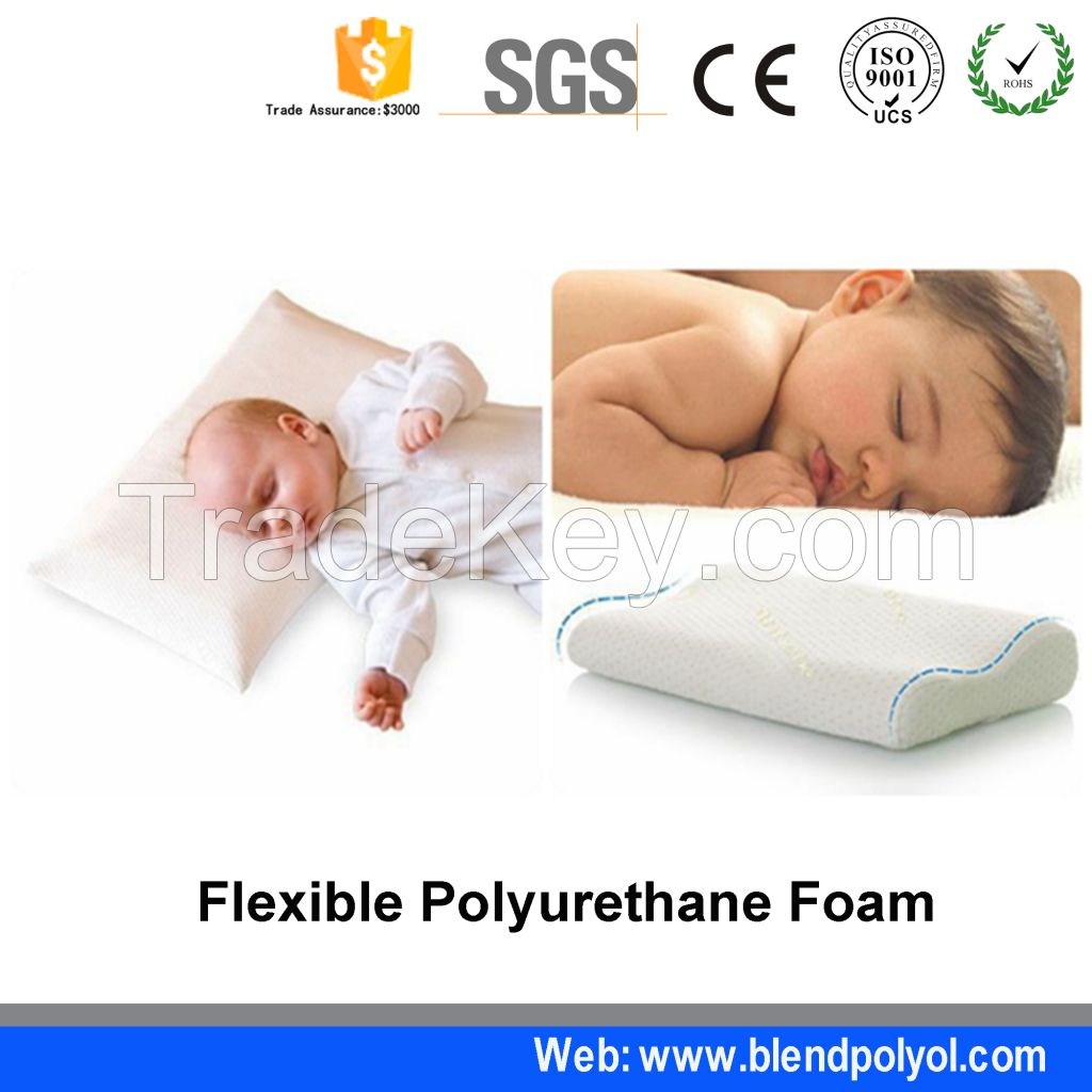Two Component PU pillow polyether polyol slow rebound Foam polyurethane