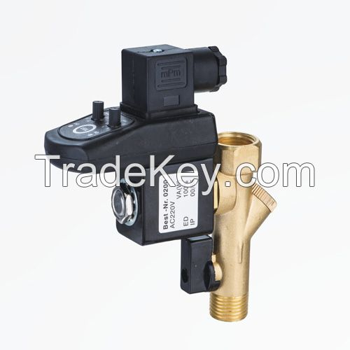 Integrated Electronic automatic Drain Valves