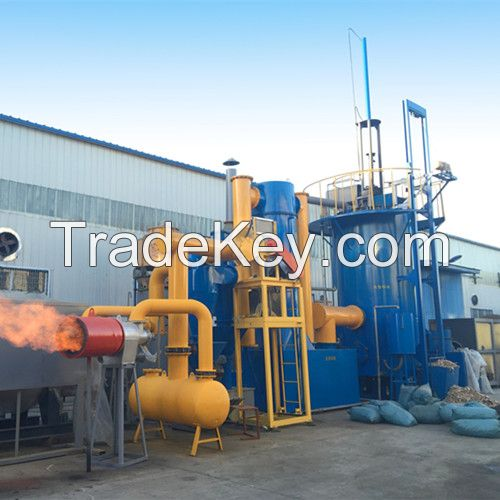 Energy Saving Biomass Burner and Msw Gasifier