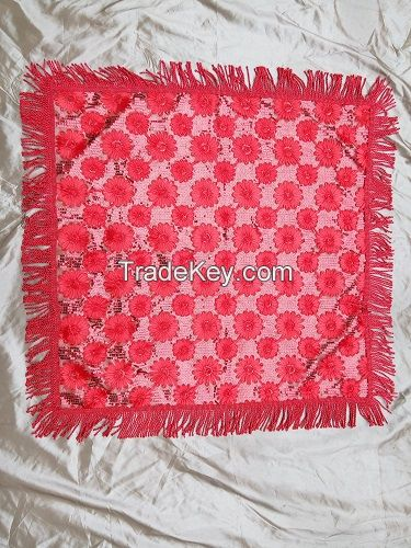 Middle East Style 100% Handmade Craft Tablecloth