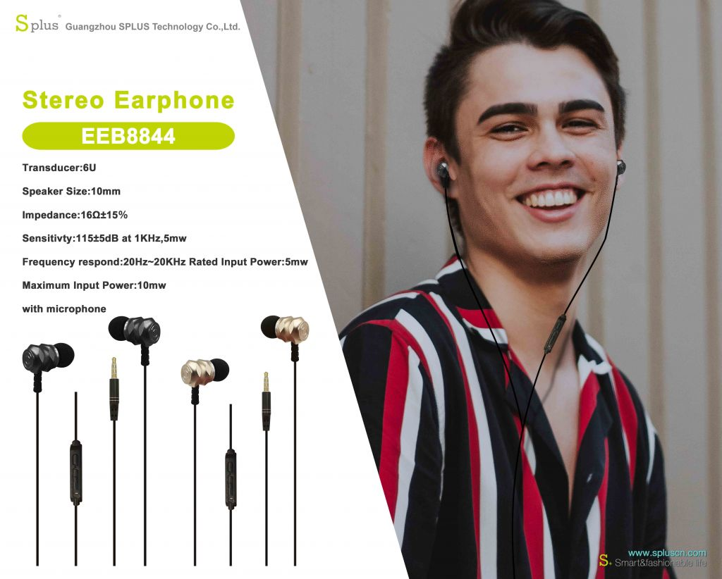 China Guangzhou Factory MP3 Phone Support Wired Stereo Earphone With Microphone