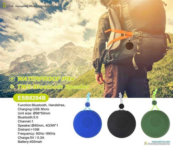 Parlante Altavoz Portátil Mini Inalámbrico Bluetooth Impermeable Al Aire Libre