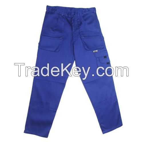 Customized Cotton Flat Waist Trousers