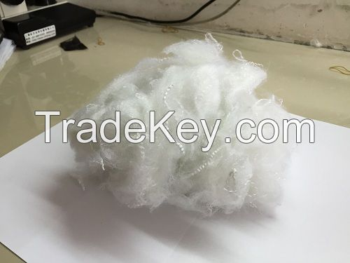 Silicon Contained Silk Like Fiber Material