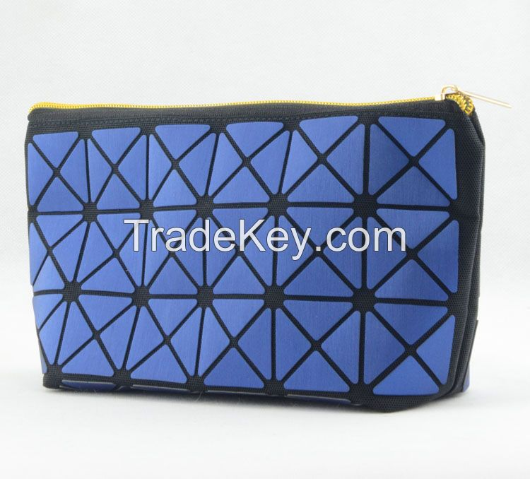 Zhaoxiang promotion custom mesh fabric benefit best travel makeup bags
