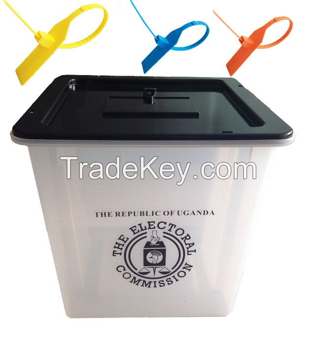 Corrugated plastic polling booth for Nigerial