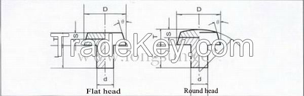 Silver Rivet Contacts Used for 12V/24V AC/DC Relays and Other Switches