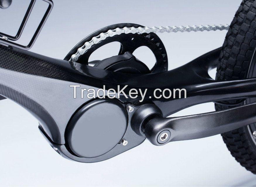ELECYCLE Torque Senor Mid-drive carbon fiber electric bike