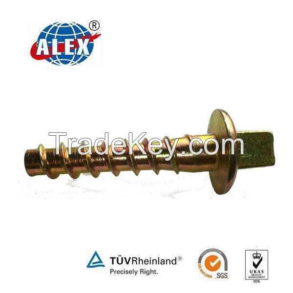 Factory price professional customized rail screw spike for track fastener