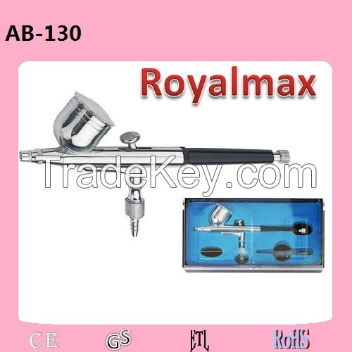 Royalmax airbrush kit AB-130 for makeup, panint spray gun, tattoo airbru