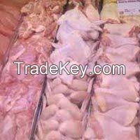 Halal Frozen Whole Chicken, Chicken Feet, Chicken Wings, Chicken Thighs and Breast.
