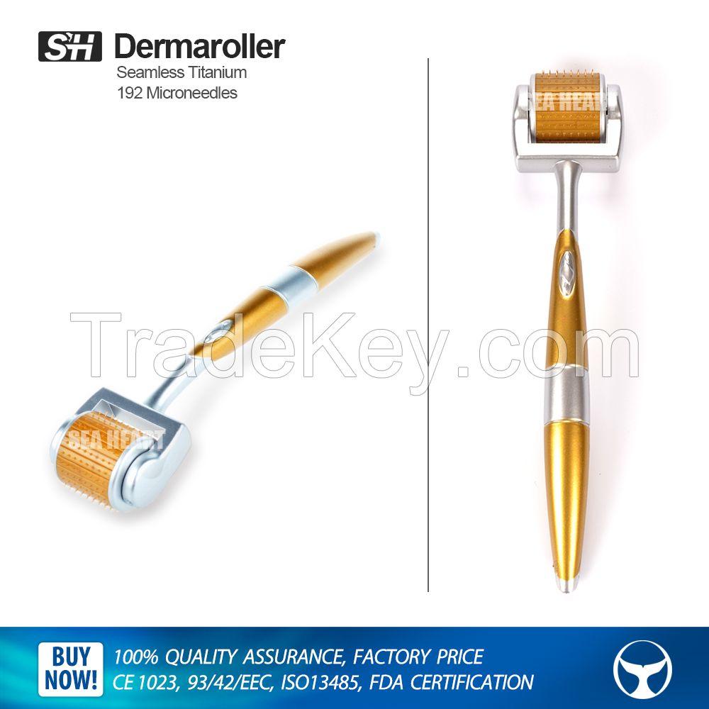 2016 hot sale titanium 192 microneeldes derma roller dermaroller ZGTS