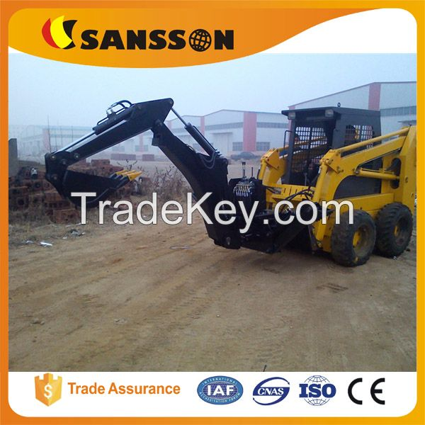 Sansson hot selling small 1 tons skid steering loaders