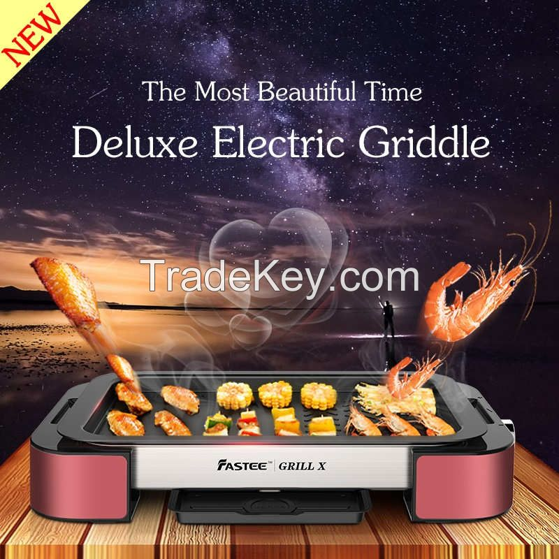 Raclette grill with high quality and smokeless