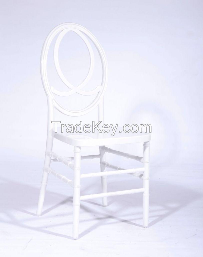 Resin Acrylic Phoenix Chair For Weddings and Restaurants
