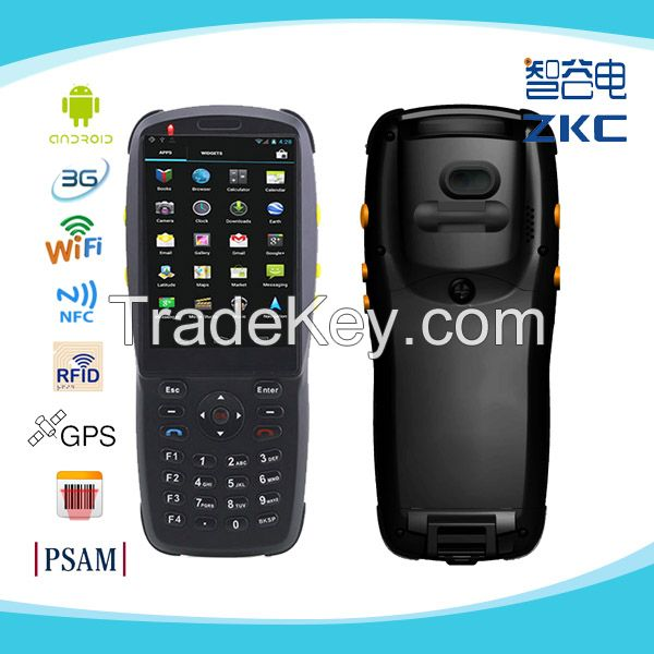 Android Handheld PDA Barcode Scanner With Camera