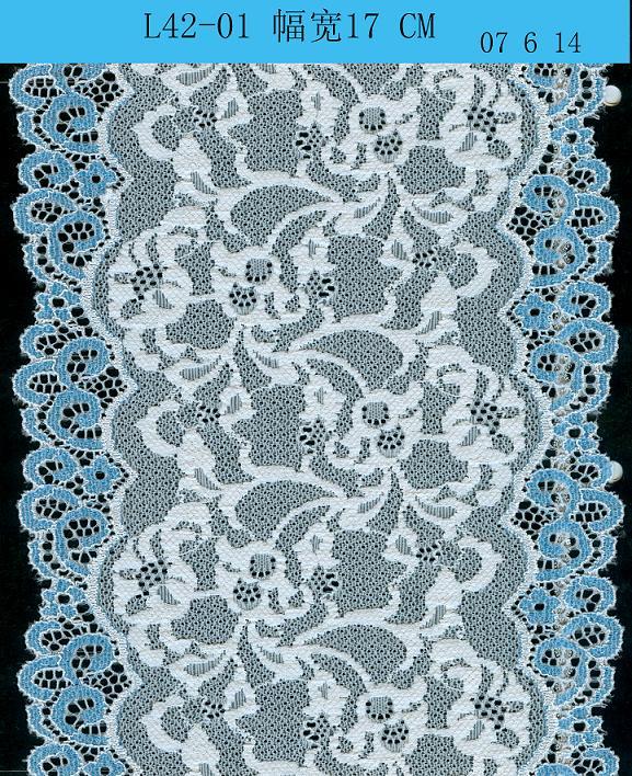 Elastic Lace, Jackquard Lace