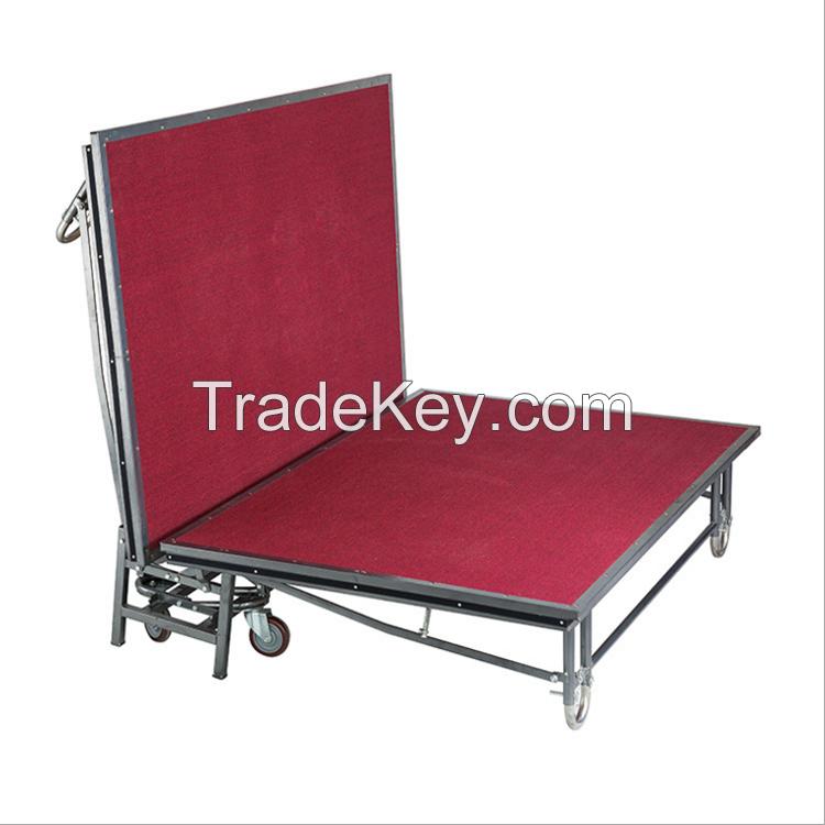 Metal Folding Mobile Stage (Adjustable height)