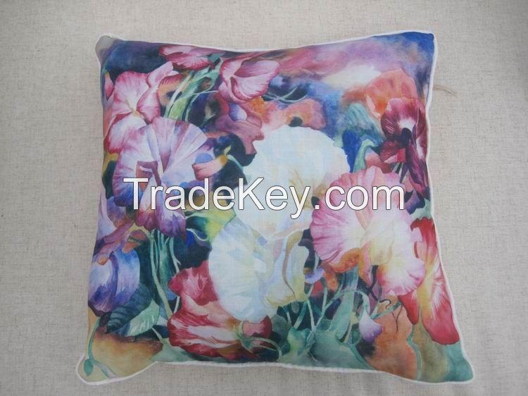 Digital Print Embroidery Jacquard cushion pillow case