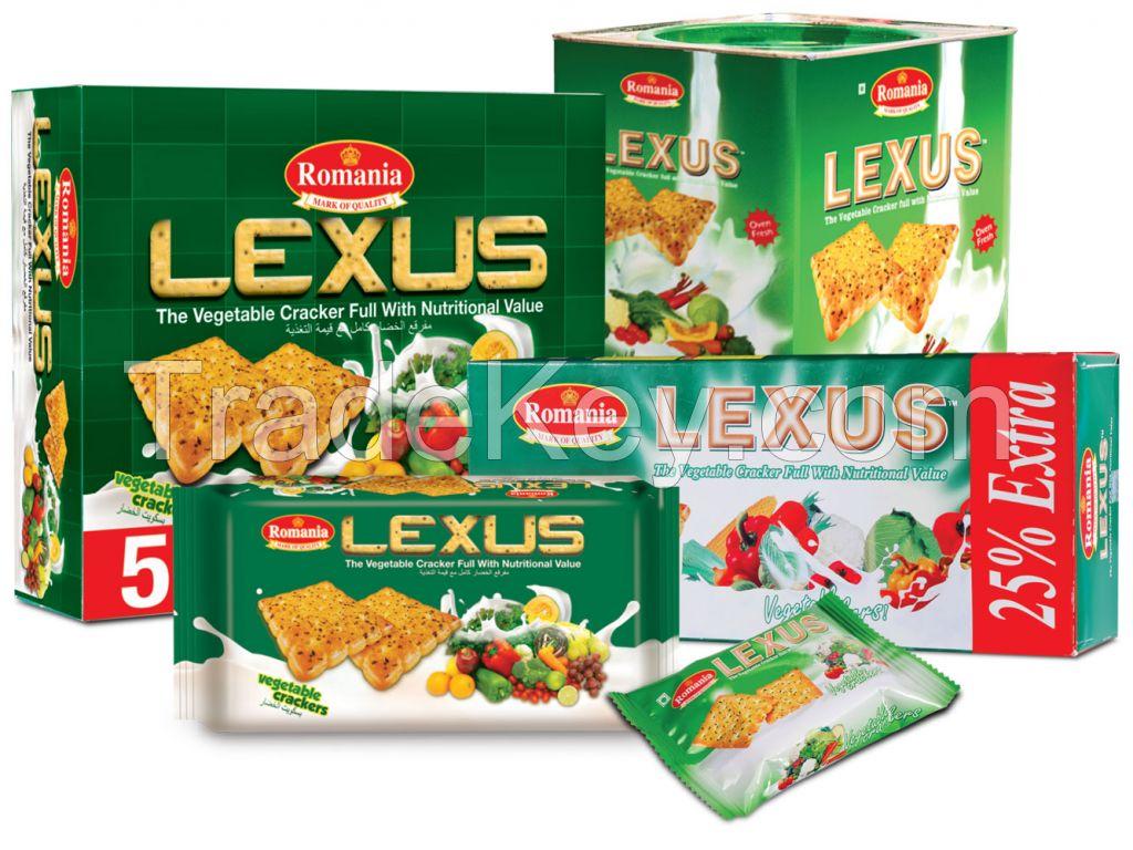 LEXUS VEGETABLE PREMIUM CRACKERS