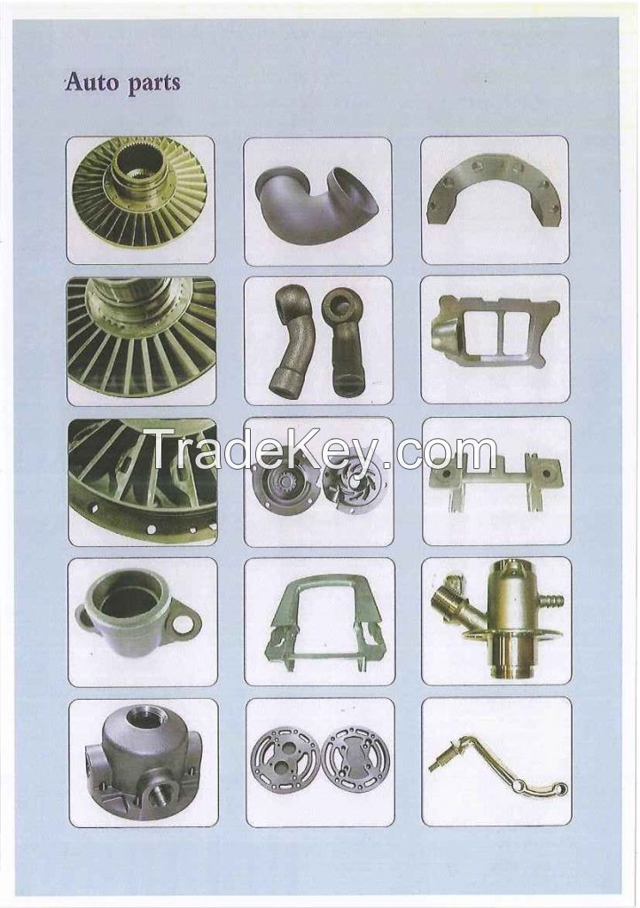 lost wax casting; investment casting; precision casting