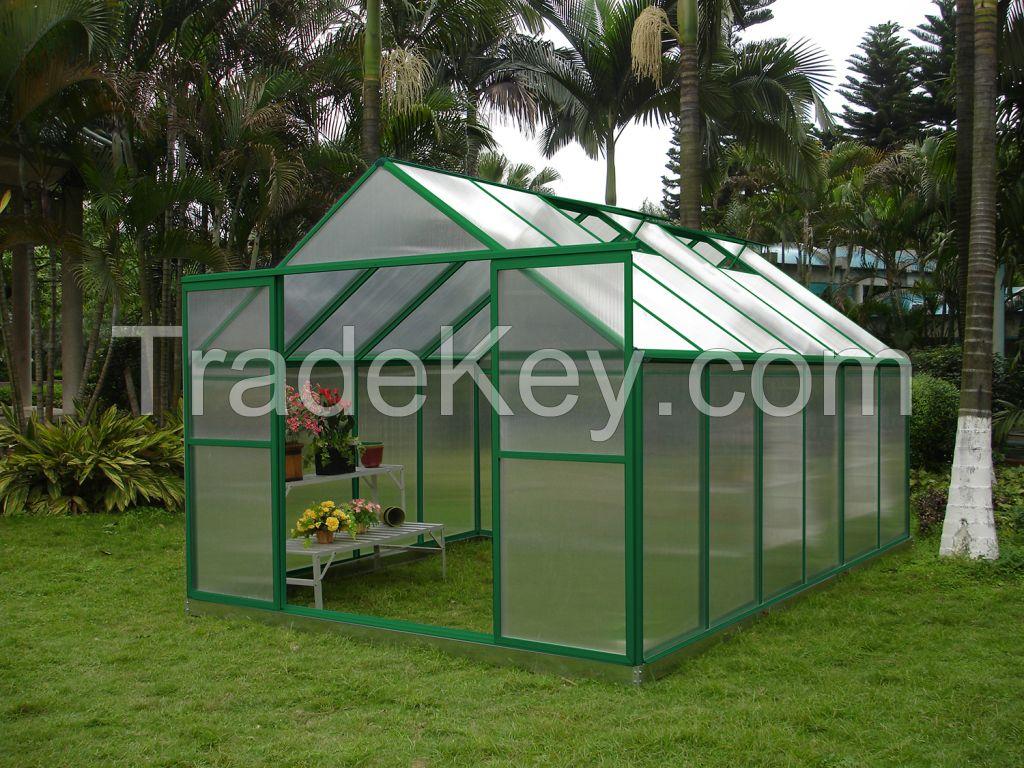 Glass sun room aluminum greenhouses Gardon rooms