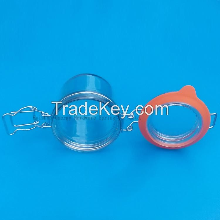 Food Grade Leaf Proof Swing Top Closures For Glass Jars for Food Packaging