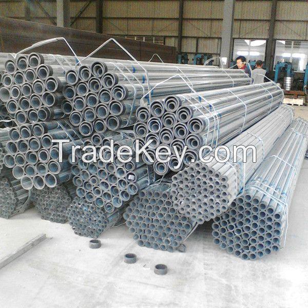 ERW welded steel pipes structure steel scaffoldings