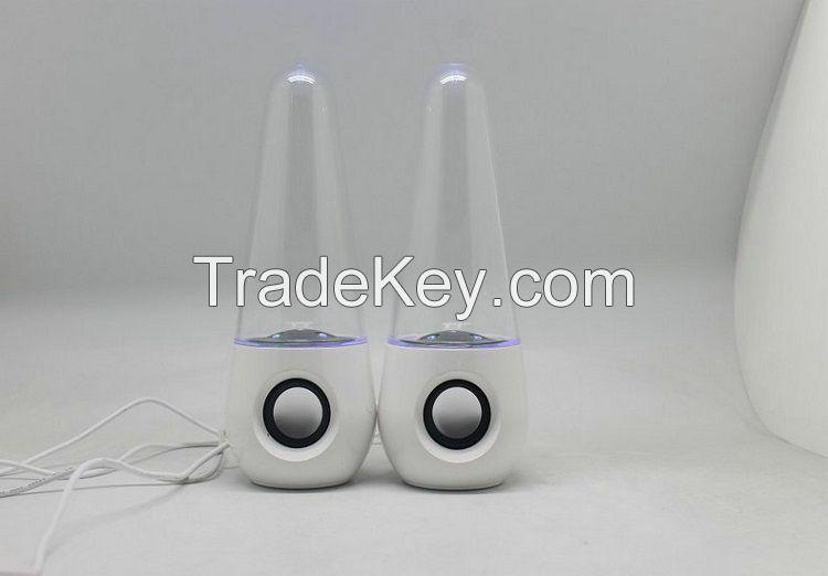 water speaker music fountain spealer LED speaker water dancing speaker