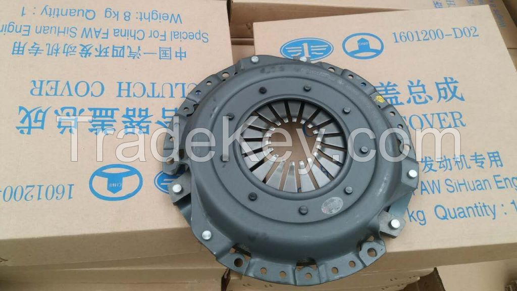 Clutch Cover For China FAW SiHuan 1601200-D02