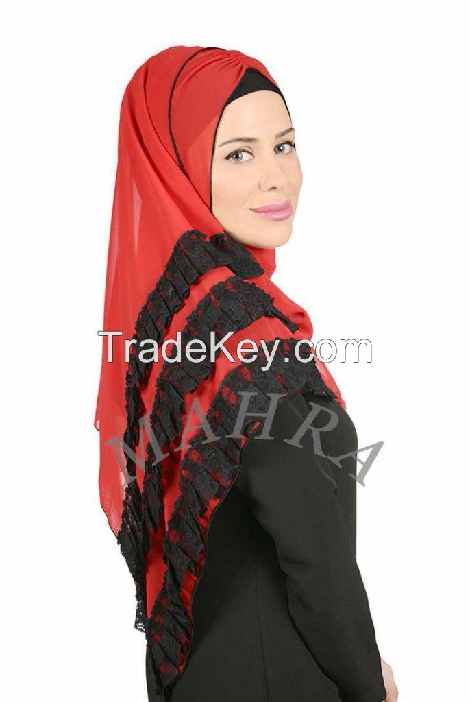 custom design shawl scarf turban hijab