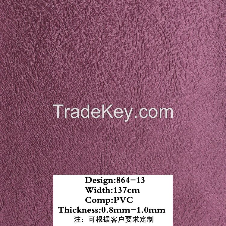 PVC leather for sofa Huahong PVC Synthetic Artificial Leather
