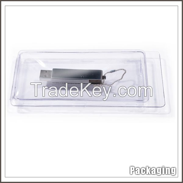Custom slide blister cardboard packaging with plastic window