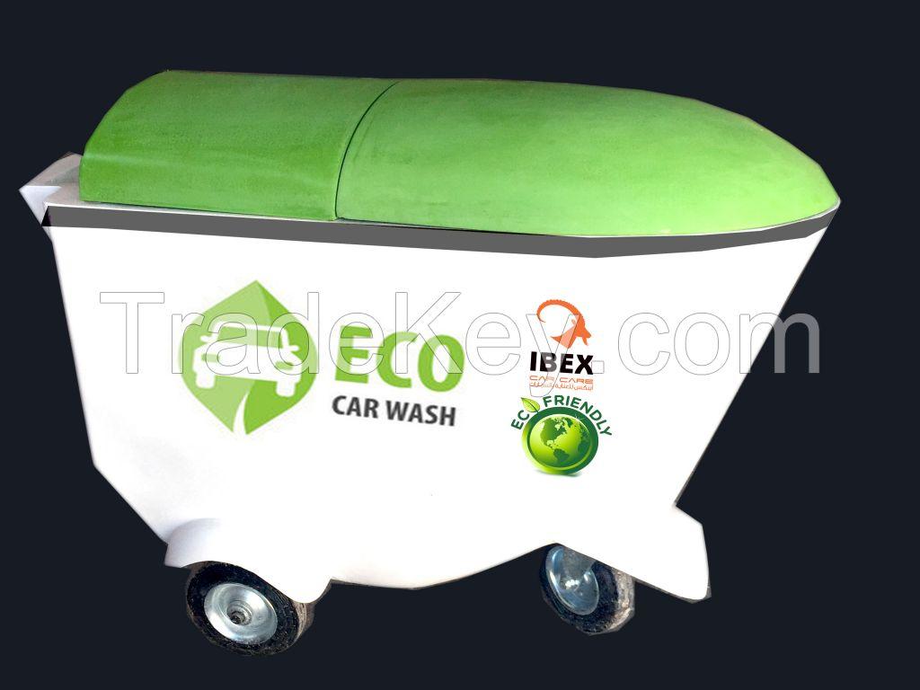 Ecowasher washer waterless trolly