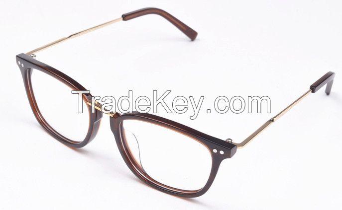 New model acetate eyeglasses frames optical glass